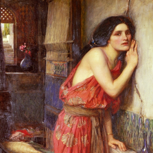 John_William_Waterhouse_-_Thisbe_1909